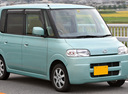 Фото авто Daihatsu Tanto 1 поколение, ракурс: 45
