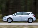 Фото авто Opel Astra J [рестайлинг], ракурс: 90 цвет: белый