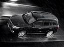 Фото авто Hyundai Santa Fe CM [рестайлинг], ракурс: сверху цвет: черный
