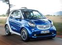 Фото авто Smart Fortwo 3 поколение, ракурс: 315 цвет: синий