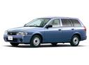 Фото авто Nissan AD Y11 [рестайлинг], ракурс: 45 цвет: голубой
