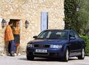 Фото авто Audi A4 B6, ракурс: 45 цвет: синий