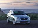 Фото авто Skoda Fabia 5J [рестайлинг], ракурс: 315 цвет: зеленый