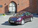 Фото авто Nissan Teana J32, ракурс: 45 цвет: красный