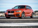 Фото авто BMW 1 серия F20/F21 [рестайлинг], ракурс: 45 цвет: оранжевый