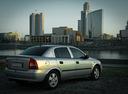 Фото авто Chevrolet Viva 1 поколение, ракурс: 225 цвет: серебряный
