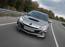 Фото авто Mazda 3 BL,  цвет: серебряный