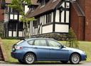 Фото авто Subaru Impreza 3 поколение, ракурс: 270 цвет: синий