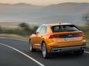 Фото авто Audi Q8 1 поколение, ракурс: 135 цвет: оранжевый