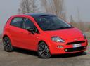 Фото авто Fiat Punto 3 поколение [2-й рестайлинг], ракурс: 315 цвет: красный