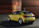 Фото авто Audi A1 2 поколение, ракурс: 135 цвет: желтый