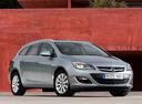 Фото авто Opel Astra J [рестайлинг], ракурс: 315 цвет: серебряный