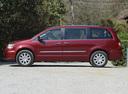 Фото авто Chrysler Voyager 5 поколение [рестайлинг], ракурс: 90 цвет: вишневый