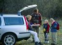 Фото авто Volvo V70 2 поколение, ракурс: задняя часть