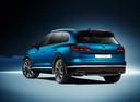 Фото авто Volkswagen Touareg 3 поколение, ракурс: 135 - рендер цвет: синий