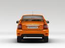 Фото авто ВАЗ (Lada) Priora 1 поколение [рестайлинг], ракурс: 180 цвет: оранжевый
