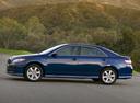 Фото авто Toyota Camry XV40, ракурс: 90 цвет: синий