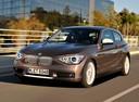 Фото авто BMW 1 серия F20/F21, ракурс: 45 цвет: коричневый