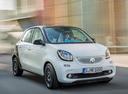 Фото авто Smart Forfour 2 поколение, ракурс: 315 цвет: белый