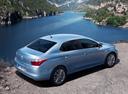 Фото авто Citroen C-Elysee 2 поколение, ракурс: 225 цвет: голубой