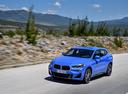 Фото авто BMW X2 F39, ракурс: 45 цвет: синий