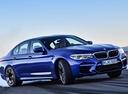 Фото авто BMW M5 F90, ракурс: 315 цвет: синий