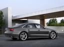 Фото авто Audi S8 D4 [рестайлинг], ракурс: 270 цвет: серый