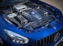 Фото авто Mercedes-Benz AMG GT C190 [рестайлинг], ракурс: двигатель цвет: голубой