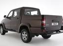 Фото авто УАЗ Pickup 2 поколение [рестайлинг], ракурс: 135 цвет: коричневый