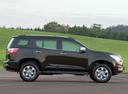 Фото авто Chevrolet TrailBlazer 2 поколение, ракурс: 270 цвет: черный
