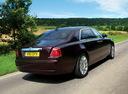 Фото авто Rolls-Royce Ghost 1 поколение, ракурс: 225 цвет: бордовый