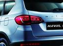 Фото авто Haval H6 1 поколение, ракурс: задние фонари цвет: серебряный