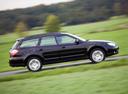 Фото авто Subaru Outback 3 поколение [рестайлинг], ракурс: 270 цвет: черный