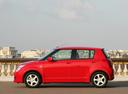 Фото авто Suzuki Swift 3 поколение, ракурс: 90 цвет: красный