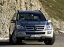 Фото авто Mercedes-Benz GL-Класс X164,  цвет: серебряный