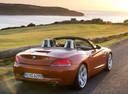 Фото авто BMW Z4 E89, ракурс: 225 цвет: красный