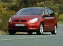 Фото авто Ford S-Max 1 поколение, ракурс: 45 цвет: красный