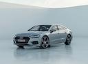 Фото авто Audi A7 C8, ракурс: 45 цвет: серебряный