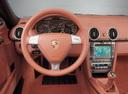 Фото авто Porsche Boxster 987, ракурс: рулевое колесо