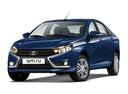 Новый ВАЗ (Lada) Vesta, синий , 2017 года выпуска, цена 545 900 руб. в автосалоне Симбирск-Лада