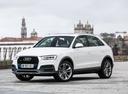 Фото авто Audi Q3 8U [рестайлинг], ракурс: 45 цвет: белый