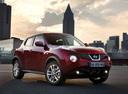 Фото авто Nissan Juke YF15, ракурс: 315 цвет: красный