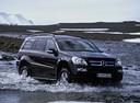 Фото авто Mercedes-Benz GL-Класс X164, ракурс: 315 цвет: черный