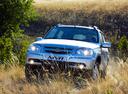 Фото авто Chevrolet Niva 1 поколение [рестайлинг], ракурс: 45 цвет: серый