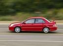 Фото авто Mitsubishi Lancer IX, ракурс: 90 цвет: красный