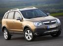 Фото авто Opel Antara 1 поколение, ракурс: 315 цвет: бежевый