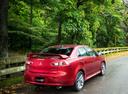 Фото авто Mitsubishi Lancer X [2-й рестайлинг], ракурс: 225 цвет: красный