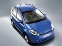 Фото авто Chery Kimo 1 поколение, ракурс: 315 цвет: синий