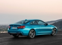 Фото авто BMW 4 серия F32/F33/F36 [рестайлинг], ракурс: 225 цвет: голубой