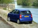 Фото авто Kia Picanto 1 поколение, ракурс: 135 цвет: синий